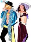 Sanji And Robin - One Piece 15 Anniversary Cosplay