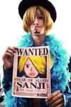 Sanji BOUNTY 15 ANNIVERSARY COSPLAY - Who Is this?