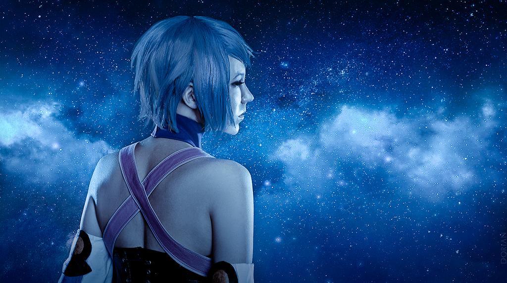 Aqua Kingdom Hearts Birth By Sleep Cosplay 04 by AdrianaLevi
