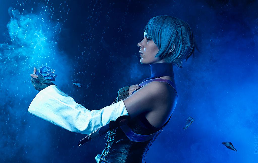 Aqua Kingdom Hearts Birth By Sleep Cosplay 06 by AdrianaLevi