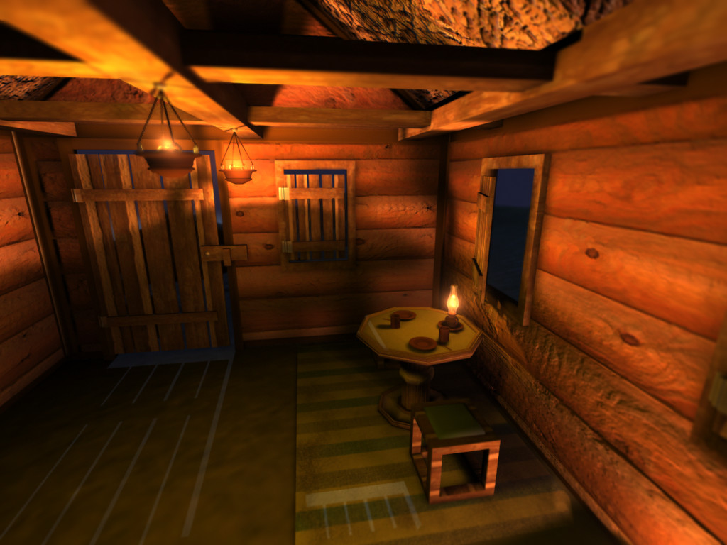 Small cabin interior 2 0 by erinlily86 on deviantart for Small interior