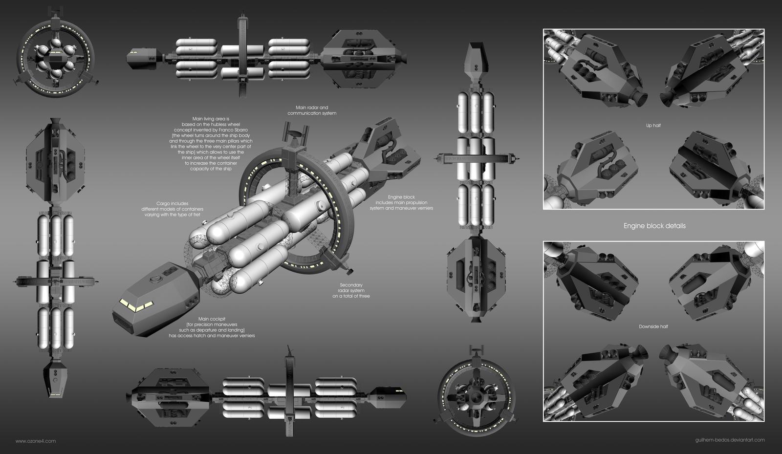 [WIP] Light Space Tanker by Guilhem-Bedos