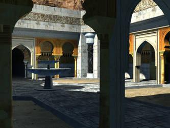 Petrusha Courtyard