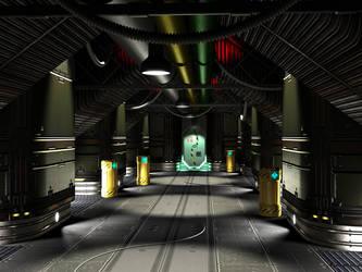 Service Corridor by Guilhem-Bedos