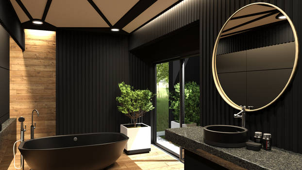 The North Bathroom