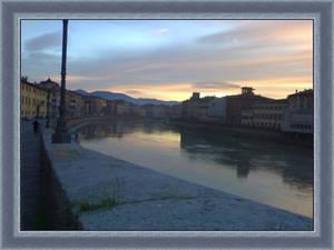 Evening on Lungarno