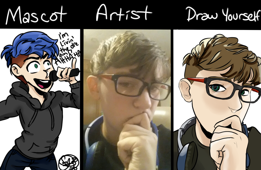 Draw yourself meme by cocoadesi