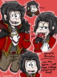Vampire Osomatsu by CocoaDeSi