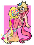 trickster rose and trickster john by CocoaDeSi