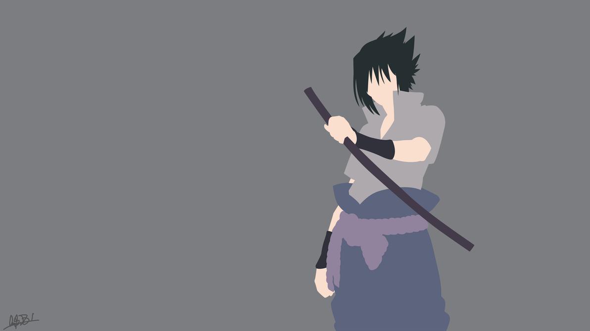 Best Wallpaper Naruto Minimalistic - uchiha_sasuke__naruto_shippuden__minimalist_by_nuralifsidoel-dbhc1um  HD_275322.png
