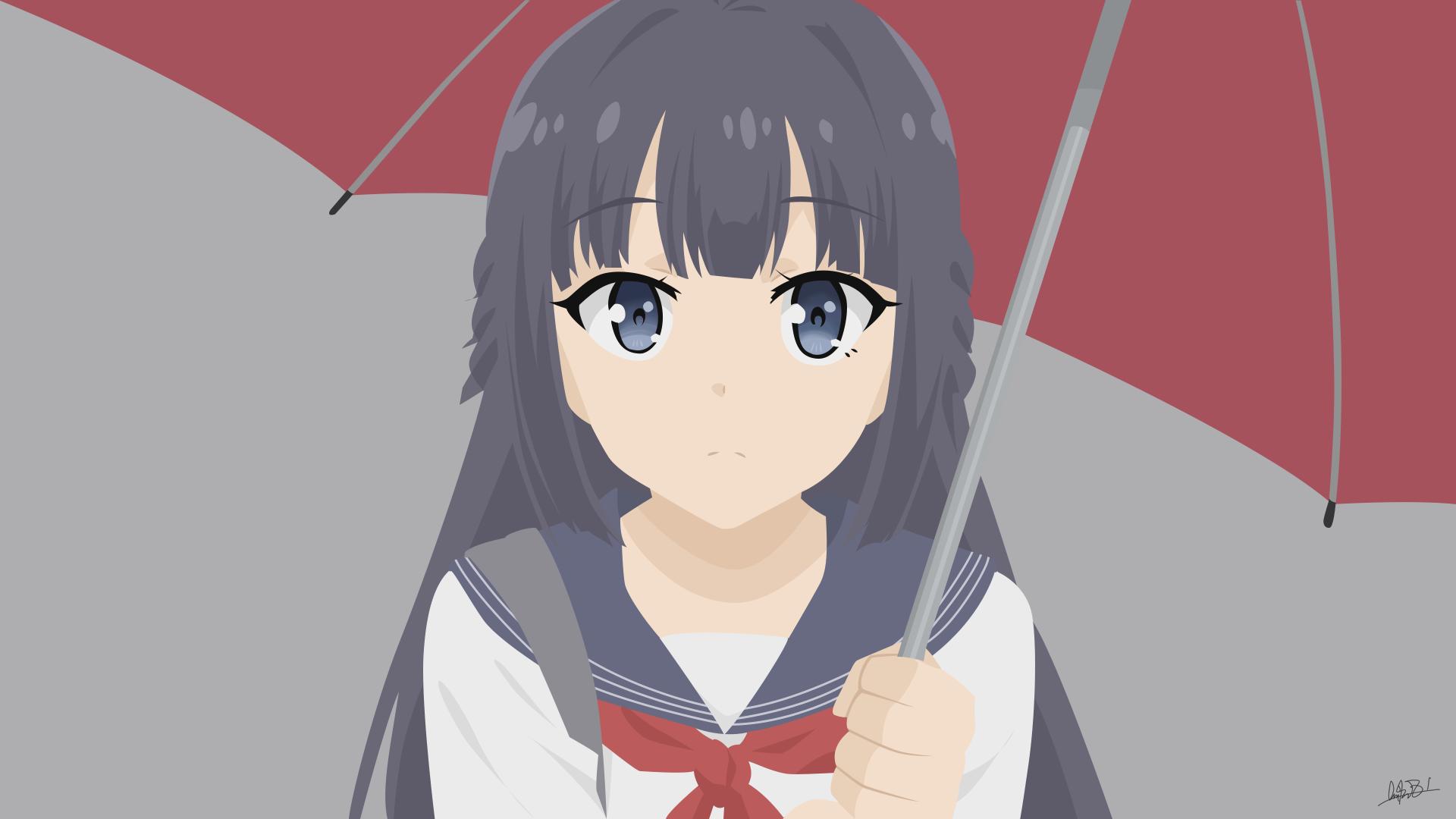 Makinohara Shoko Seishun Buta Yarou Vector By Nuralifsidoel On