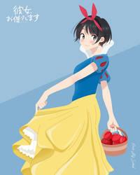 Ruka Sarashina {Kanokari} | Snow White