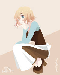 Mami Nanami {Kanokari} | Cinderella (Before)