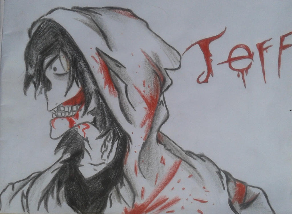 Jeff The Killer - Collab with gameluis02 by DracorusTerra