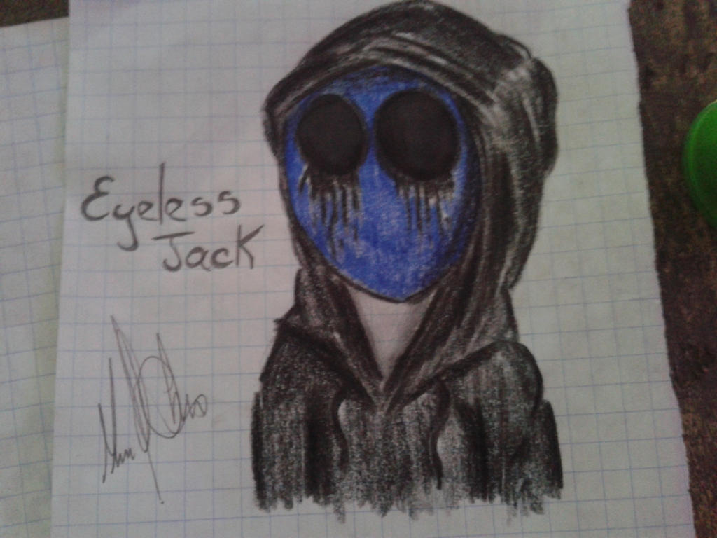 Eyeless Jack by DracorusTerra