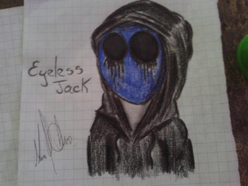 Eyeless Jack by DracorusTerra