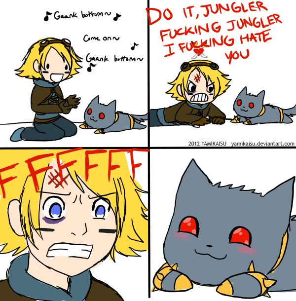 LoL :: Jungler by Yamikaisu