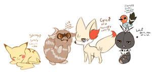 Beginning team - Pokemon Y