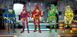 Power Rangers Zeo Advanced
