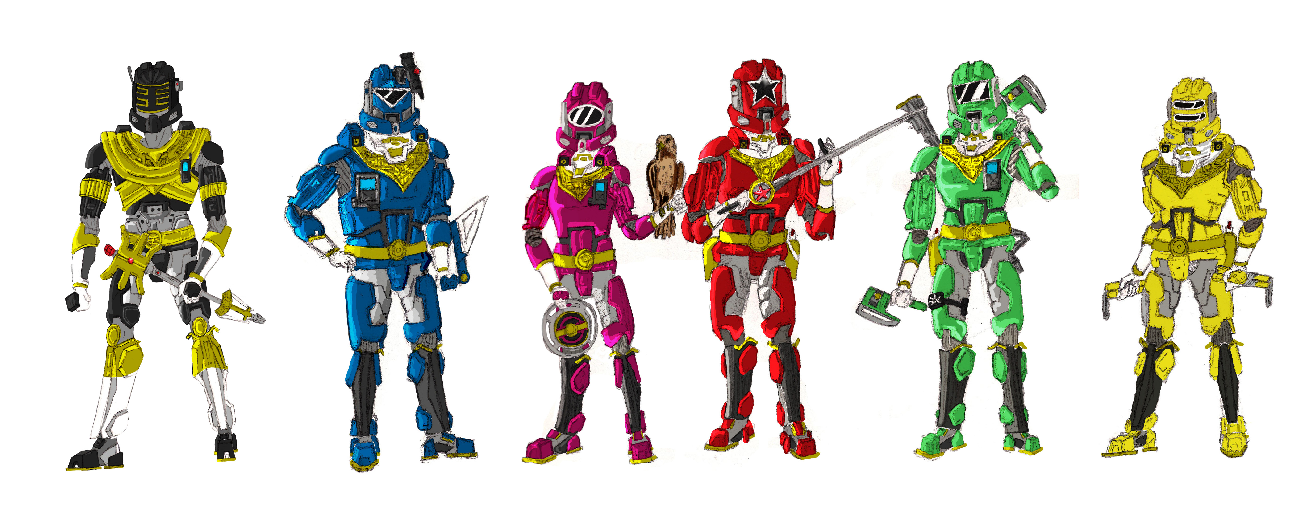 gold power rangers samurai coloring pages free here