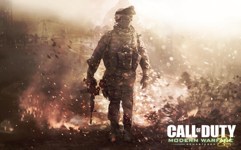 COD Modern Warfare 2 Remastered - Leaked Wallpaper by BlacksmithTattoo