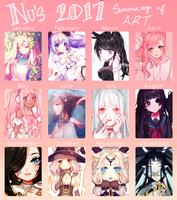 2017 Art Summary by 01nu