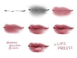 my lips process