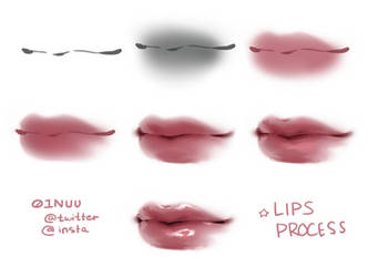 Tutorial Body Mouth Lips On Drawing Tutorial Deviantart