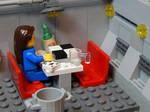 Lego Fallout 3 Vault: Cafeteria Area