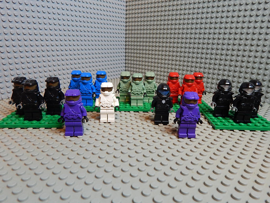 Lego halo spartan collection by mattforrest on deviantart - Lego spartan halo ...