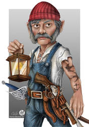 Landlegs Locke - a Sailor Gnome