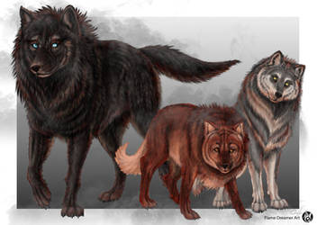 Fenwolf Pack with Draga