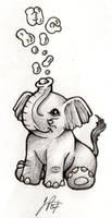 Tim's Little Elephant by Blueicebird
