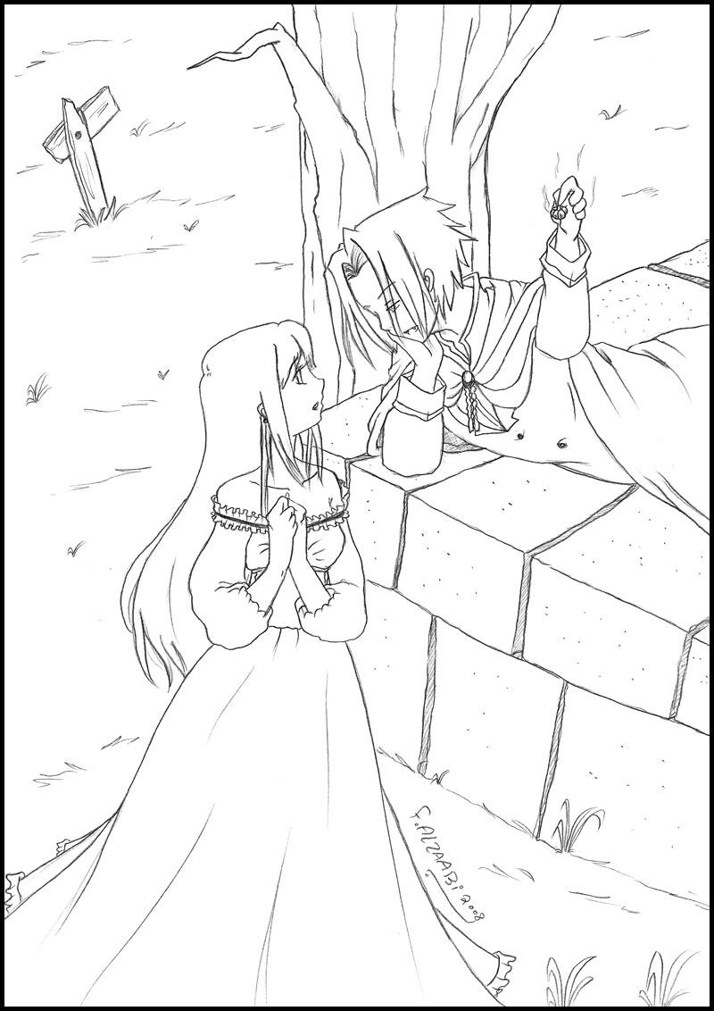 SasuHina - Vampire by Haibra