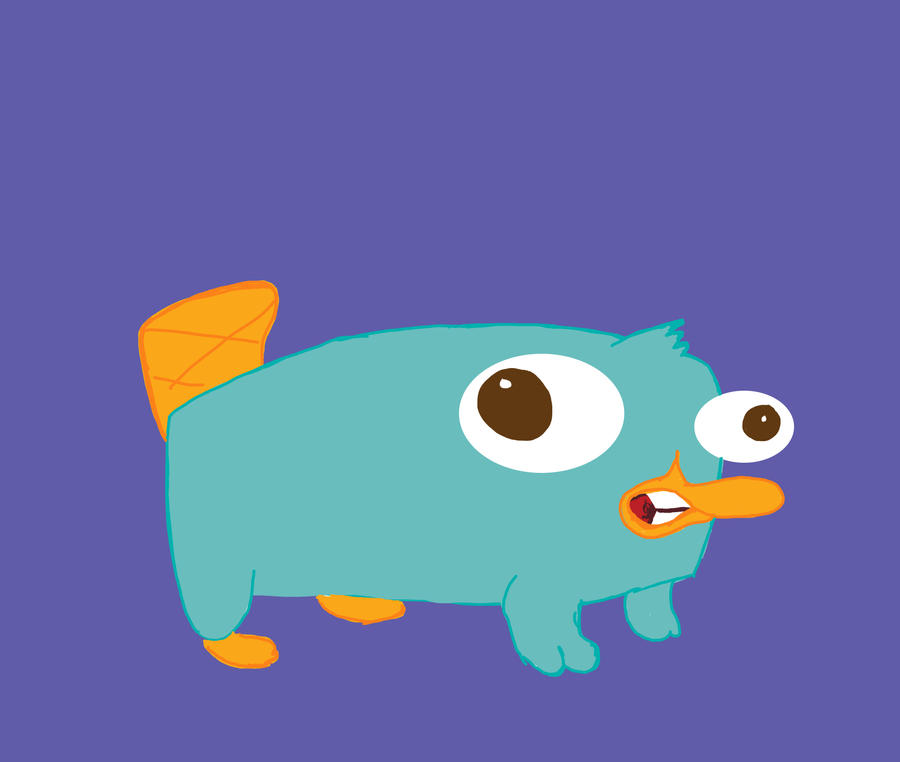 Perry The Platypus As A Baby