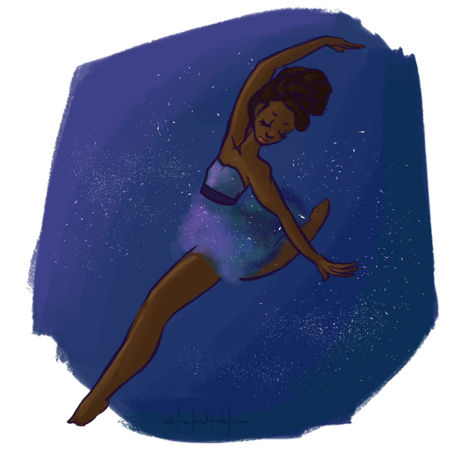 Dancing In The Sky With Diamonds by purplypanda20