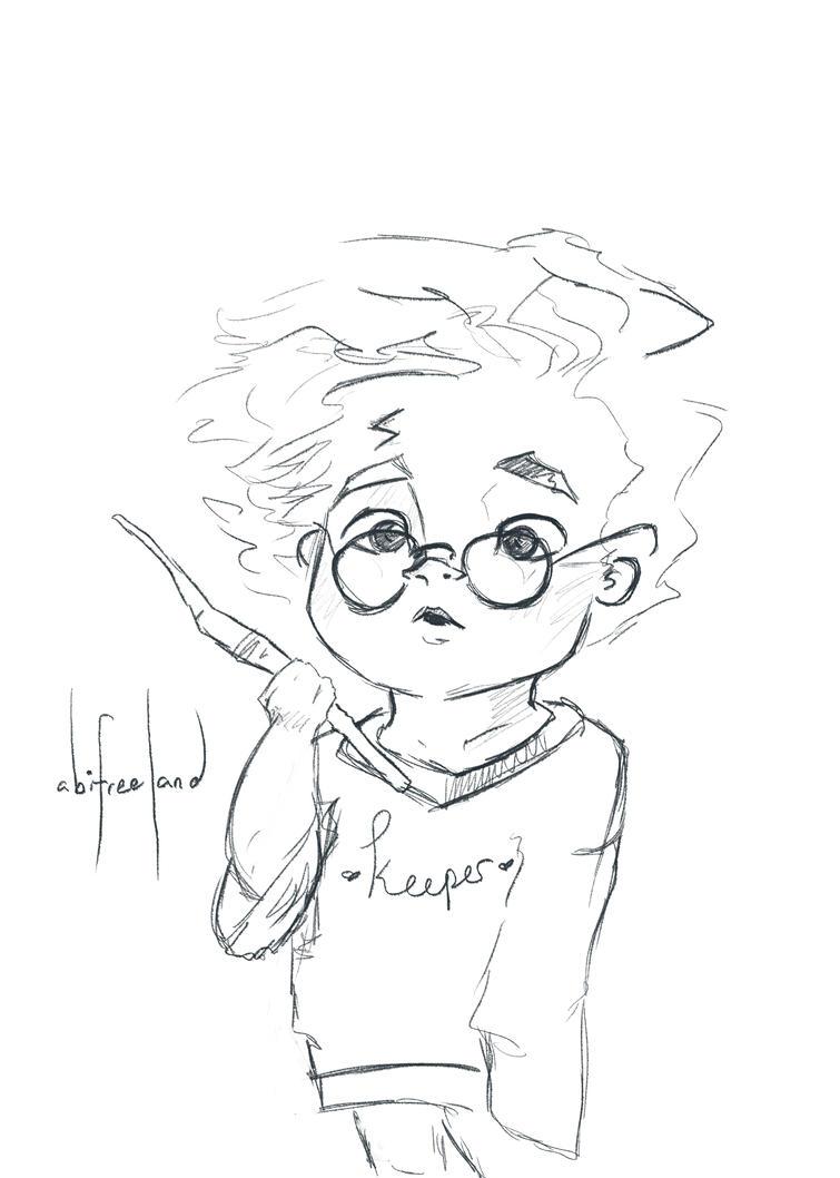 Lil Harry Potter by purplypanda20