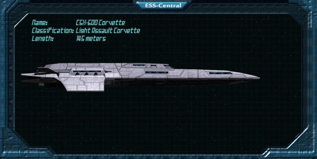 Techbase: CSX-600 Corvette by Vince-T