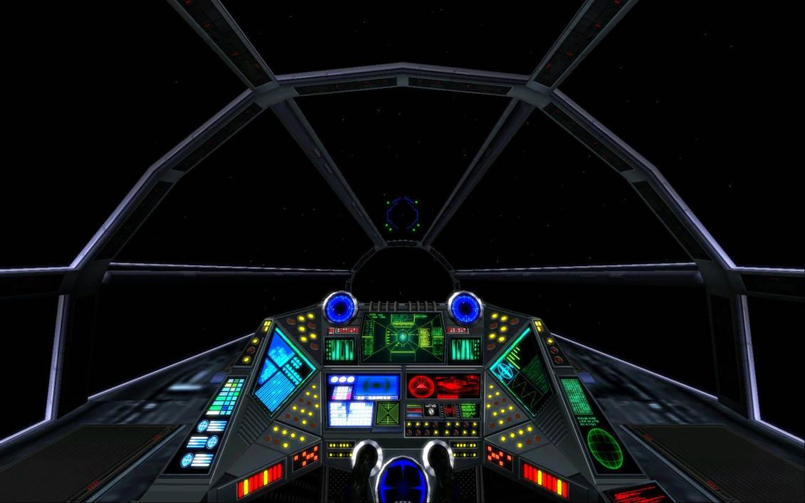 TIE Reaper - Cockpit WIP by Vince-T