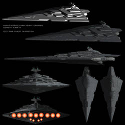 Starship Profile: Warhammer-Class Heavy Cruiser by Vince-T