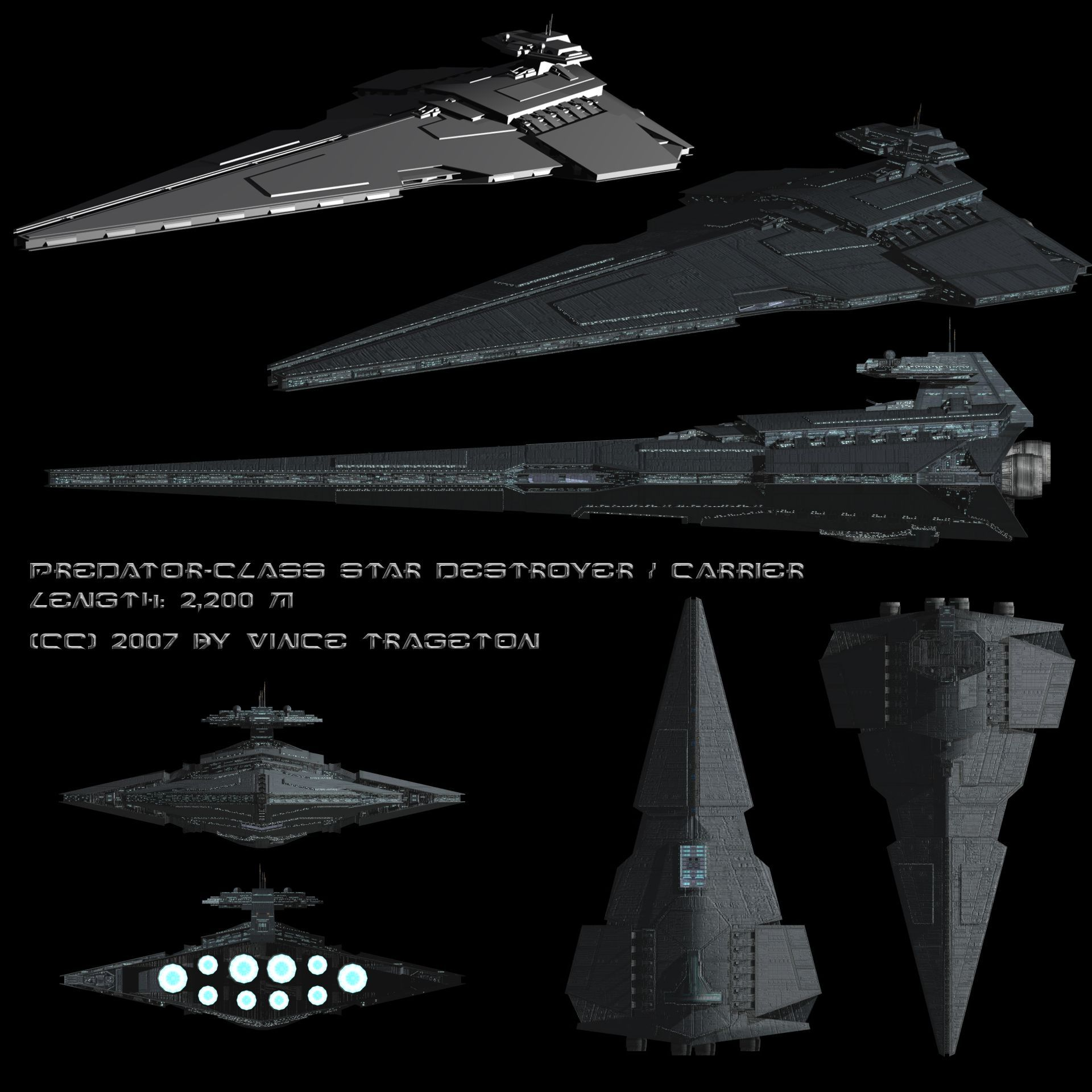 Starship Profile: Predator-class Star Destroyer by Vince-T ...