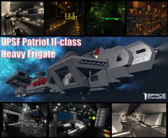 UPSF Patriot II-class Frigate @ Space Engineers