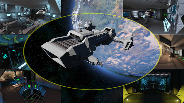 KCL Corporate Frigate @ Space Engineers
