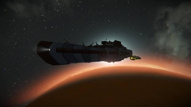 Stalwart-class Destroyer @ Space Engineers