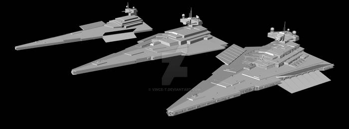 WIP: Evolution of the XWA Victory-class SD