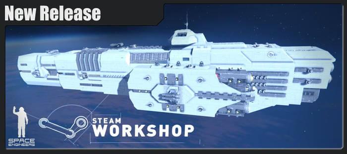 Praetorian-class Carrier @ Space Engineers
