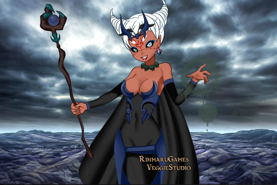 Riley as an evil necromancer by loveangel15 on DeviantArt