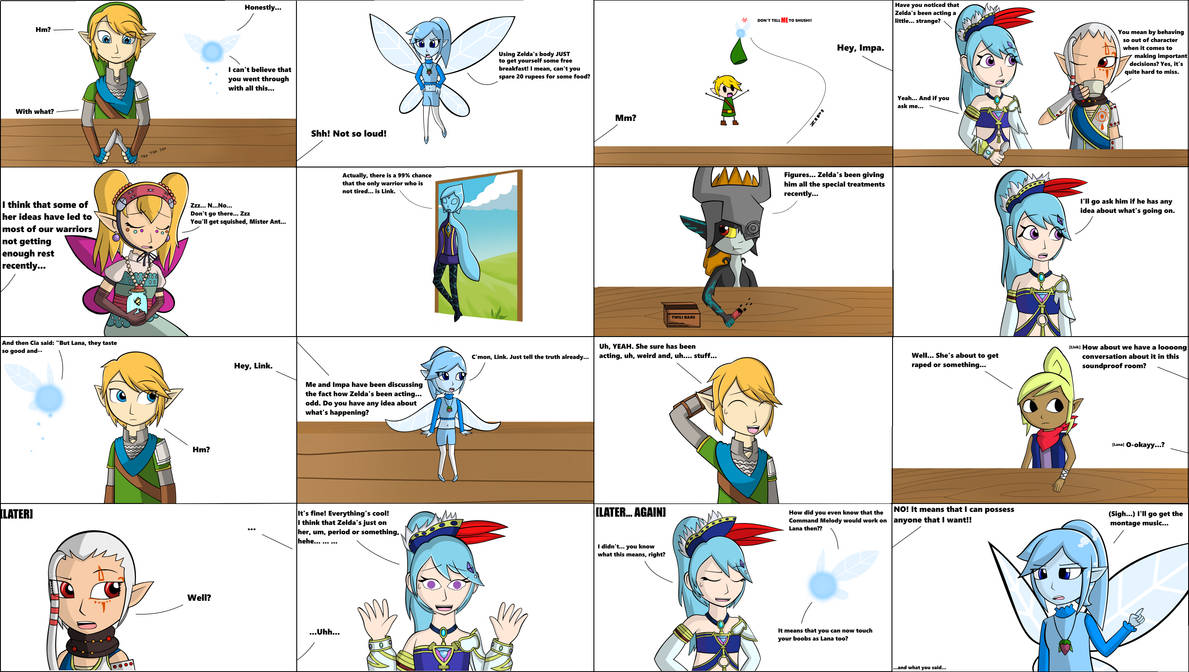 Hyrule Warriors Command Melody Part 4 Edited By Starfighter364 On