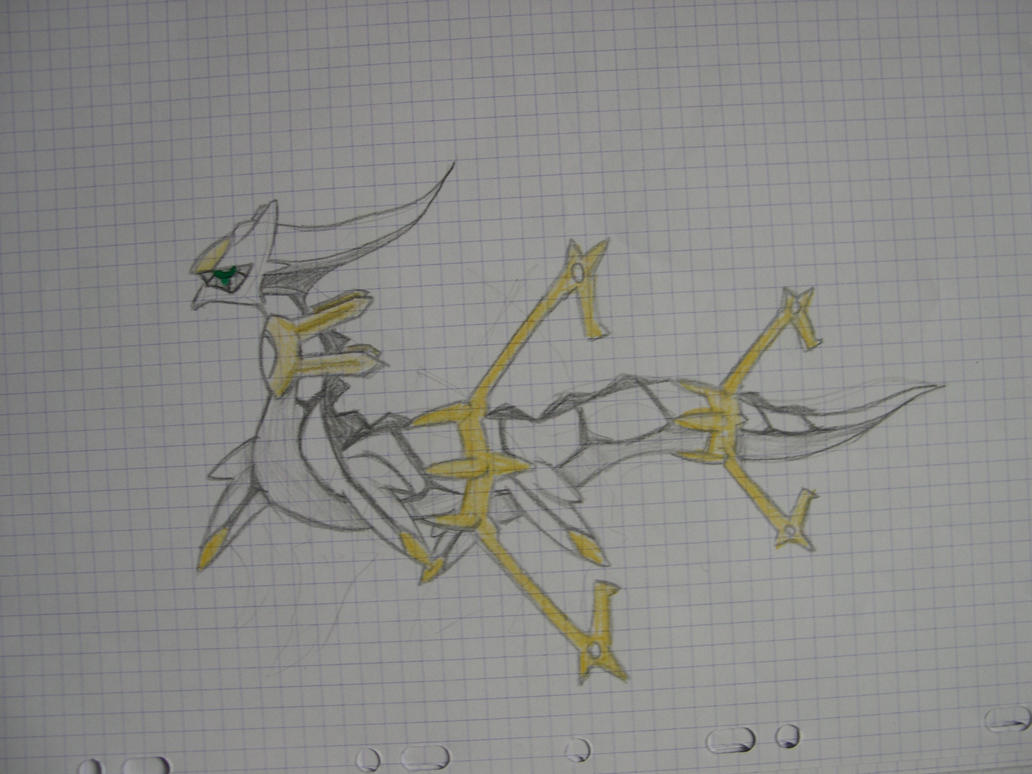 Form And Space In Art : Arceus space form by ericworld on deviantart
