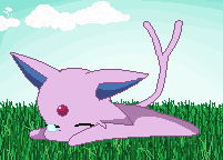 Sleeping Espeon by iOhimesama